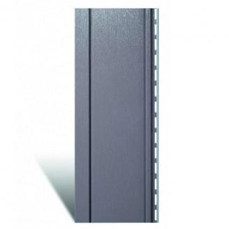 Вертикальный сайдинг Альта-Профиль Quadrohouse techno металлик