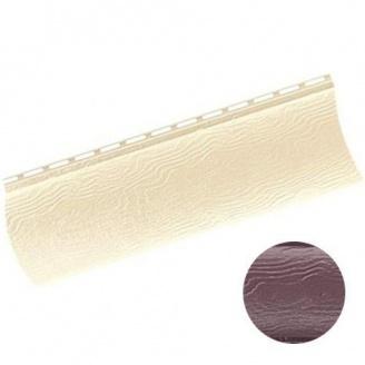 Сайдинг Альта-Профиль BlockHouse однопереломный красно-коричневый