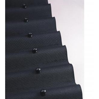 Лист покрівельний Onduline 950х2000 мм чорний