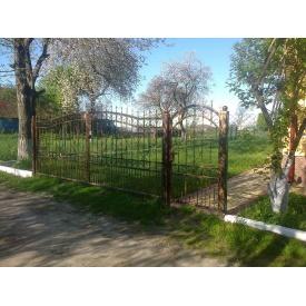 Ворота и калитка в комплекте