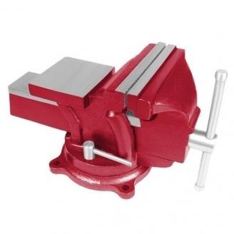 Тиски слесарные Intertool 125 мм (HT-0052)