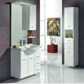 Зеркало DEVIT Vintage 813х1118 мм белый (5022122)