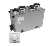 Приточно-вытяжная установка VENTS ВУТ 200 В мини (РС) 200 м3/ч 116 Вт