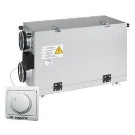 Припливно-витяжна установка VENTS ВУТ 300 Г міні (РС) 300 м3/год 116 Вт