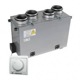 Припливно-витяжна установка Вентс ВУТ 200 В міні (РС) 200 м3/год 116 Вт