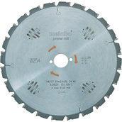 Диск циркулярный METABO HW/CT 254x30 24 WZ5н 254х30 мм (628220000)
