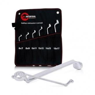Набор накидных ключей Intertool 6 элементов 6-17 мм (XT-1201)