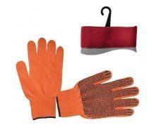 Перчатки Intertool оранжевые (SP-0131)
