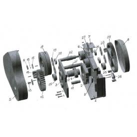 Ремонт станка рубки и гибки арматуры