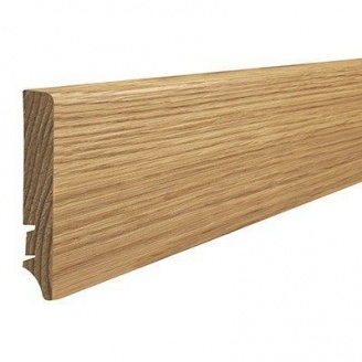 Плинтус деревянный Barlinek P61 Дуб 90х16х2200 мм
