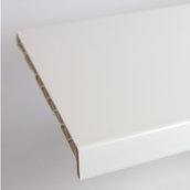 Подоконник ПВХ Brilliant 300х6000 мм белый глянец