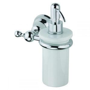 Керамический дозатор жидкого мыла DEVIT Charlestone с настенным держателем хром (4024.01H)