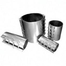 Хомут для ремонту різних трубопроводів з різних матеріалів 243-253х200 мм