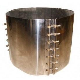 Хомут для ремонту металевих труб 267-277х200 мм