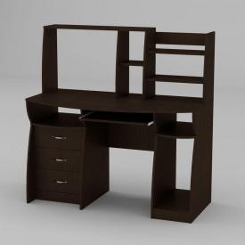 Комп'ютерний стіл Компанит Комфорт-3 1310х700х809 мм венге