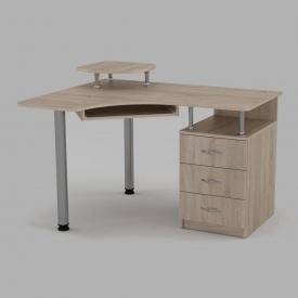 Компьютерный стол Компанит СУ-2 1200х1000х736 мм дуб сонома