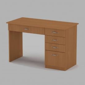 Письмовий стіл Компанит Студент 1155х550х736 мм бук