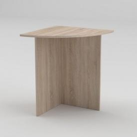Письмовий стіл Компанит МО-2 600х600х736 мм дуб сонома