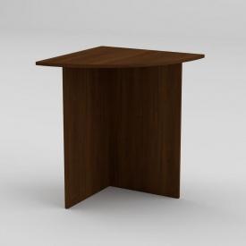 Письмовий стіл Компанит МО-2 600х600х736 мм горіх