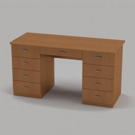 Письмовий стіл Компанит Вчитель-3 1400х600х736 мм бук