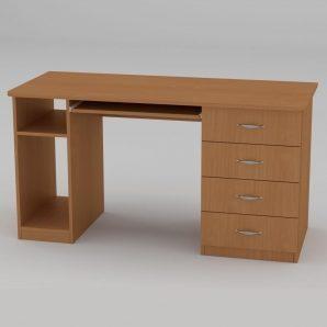 Комп'ютерний стіл Компанит СКМ-11 1400х600х736 мм бук