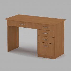 Письменный стол Компанит Студент 1155х550х736 мм бук