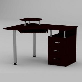 Комп'ютерний стіл Компанит СУ-2 1200х1000х736 мм венге