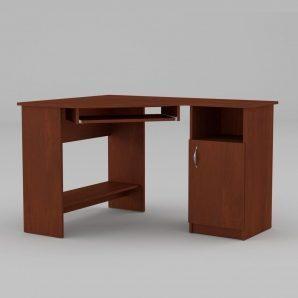 Комп'ютерний стіл Компанит СУ-13 1200х900х749 мм МДФ яблуня
