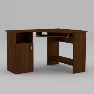 Компьютерный стол Компанит СУ-14 1200х900х749 мм орех