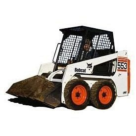 Аренда мини-погрузчика Bobcat-553