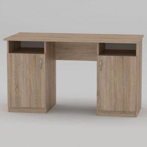 Письменный стол Компанит Учитель 1300х600х736 мм дуб сонома