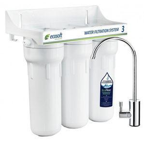 Тройная система очистки воды Ecosoft EcoFiber