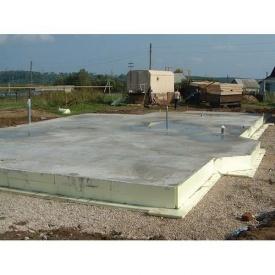 Возведения фундаментной плиты с армированием