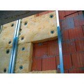 Система утепления Ceresit для фасада дома минеральной ватой 50 мм