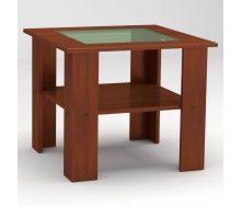 Журнальный столик Компанит Мадрид-МДФ 600х500х600 мм яблоня