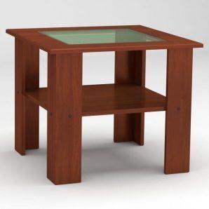 Журнальный столик Компанит Мадрид 600х500х600 мм яблоня