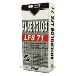 Смесь самовыравнивающаяся Ансерглоб LFS-71 10-80 мм 25 кг 1/42
