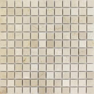 Мозаика мраморная SPT018 30х30 см бежевая