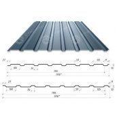 Профнастил Сталекс С-15 1170/1115 мм 0,50 мм PE Германия (Acelor Mittal) (RAL7024/серый графит)