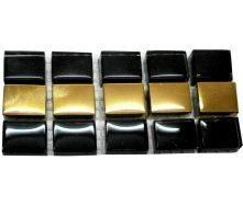 Мозаїка GRand CeRaMa Фриз чорно-золота