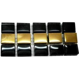 Мозаика GRand CeRaMa Фриз черно-золотая