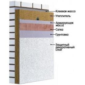 Система утепления фасада Krautol с минеральной ватой