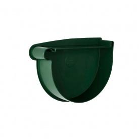 Заглушка воронки левая Rainway 130 мм зеленая