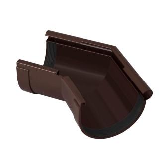 Угол желоба наружный Rainway 135 градусов 90 мм коричневый