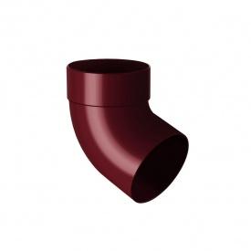 Відведення одномуфтове Rainway 67 градусів 75 мм червоне