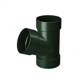 Трійник Rainway 67 градусів 75х75 мм зелений