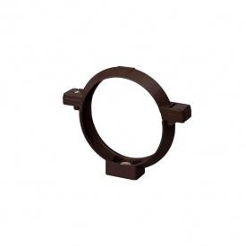Кронштейн труби Rainway 100 мм коричневий