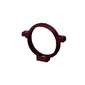 Кронштейн трубы Rainway 100 мм красный