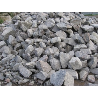 Бутовый камень 150х300 мм серый