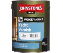 Лак для наружных работ JOHNSTONE'S Yacht Varnish глянцевый 2,5 л